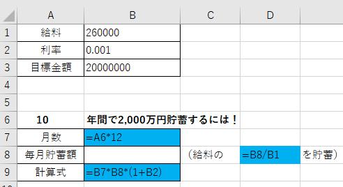 ゴールシーク数式