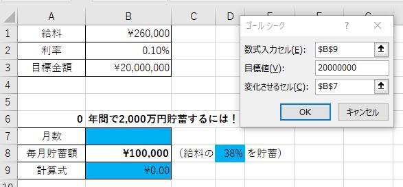 ゴールシーク(数式)